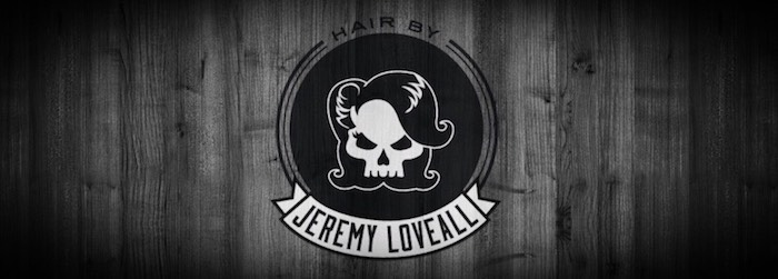 Hair by Jeremy Loveall - Skull Logo